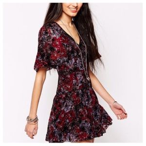 Free People perfect dream dress in berry, 6